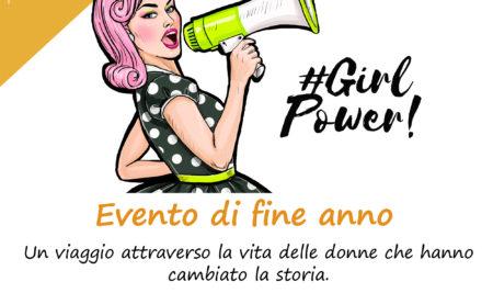 Evento di fine anno: GIRL POWER!!! – 27/05/18